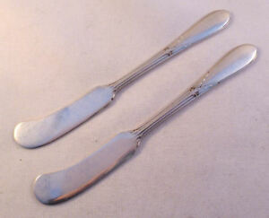 ROSE MARIE- GORHAM 2 STERLING FH BUTTER SPREADERS