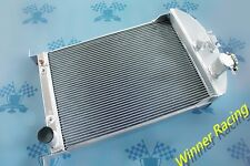 56mm aluminum radiator fit Ford Car W/Chevy 350 V8 SWAP AUTO AT 1933-1934
