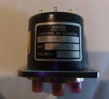 Narda Switch RF Coaxial 24VDC 6060-D0-A1C-7C2 Blocking Matrix