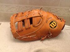 """Wilson 12.75"""" A2800 A2802 Baseball Softball First Base Mitt Left Hand Throwing"""