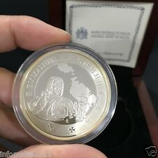 2013 Malta Emmanuel Pinto Silver Proof Coin Box and Certificate #0618
