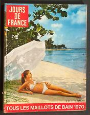 'JOURS DE FRANCE' VINTAGE MAGAZINE SWIMWEAR ISSUE 15 APRIL 1970