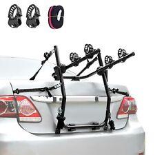 2 Bike Rack for Car SUV Universal Carrier - Bicycle Trunk Mount Rear Rack -Sedan