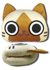 Monster Hunter 12'' Airou Hand Warmer Pillow Plush Anime Manga NEW