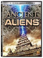 Ancient Aliens Tenth Season 10 Vol 1 DVD Set 2 Disc Collection TV Sho Series Ten