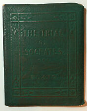 Little Leather Library THE TRIAL OF SOCRATES by PLATO
