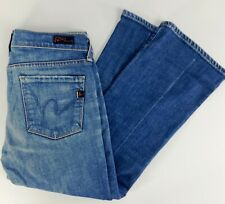 Citizens of Humanity Kelly Stretch #063 Low Waist Crop Light Wash Jeans Size 29