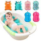 Portable Newborn Bath Support Cushion Mat Pad Safety Infant Bathtub Floating NEW
