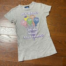 "Junk Food Tootsie Pops ""It's What's Inside"" Tee XS"