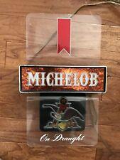 Vintage Michelob Beer Bar Light Lighted Sign Everbrite Man Cave Nice