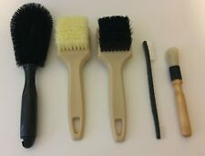 FGA-2020 Brushes Combo (5) For Interior/Exterior Auto Detailing & Cleaning