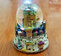 VINTAGE CENTRAL PARK SNOW GLOBE – BIG BROWN BAG – NYC SNOW GLOBE – TWIN TOWERS