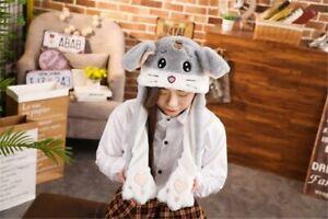 New Animal Style Ears Wavy Hat Halloween Costume Airbag inside to make Ears MOVE