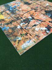 Photo Background Surface Backdrop Wood Look Paint splat Photography 40cm