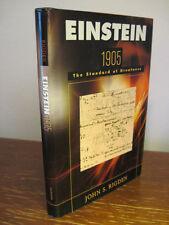 1st/1st Printing EINSTEIN 1905 John Rigden BIOGRAPHY Science HARVARD