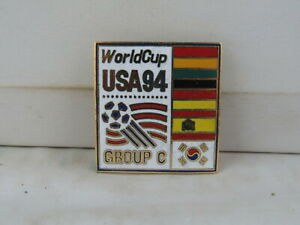1994 World Cup of Soccer Pin - Group C with Country Flags by Peter David