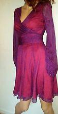 DVF Ashlynn Silk Dress Size 4 new $428
