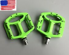 Magnesium alloy Road MTB Mountain XC AM FR Bike Pedals flat Bicycle Pedal Green