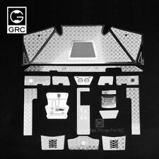 GRC 90048 Stainless Steel Interior Diamond Plate For Axial RR10 Bomber #GAX0125