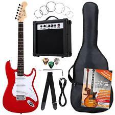 Rocktile 00036283 Set complet Guitare Électrique Rouge