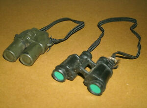 """Two 1/6 Scale Binoculars (Day & Night Vision) for 12"""" Action Figure Army Soldier"""