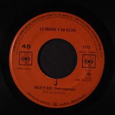 LE MAIRE Y SU KLAN: Mar Y Sol / Para Siempre LP (Mexico, '76) Latin