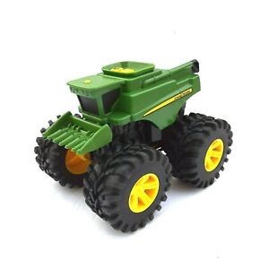 John Deere Monster Treads Combine TOMY Plastic Toy *For Parts/Non-Working*