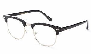 Interview Smart Clear Lens Glasses Fake Vintage Nerd Geek Retro Hipster UV 100%