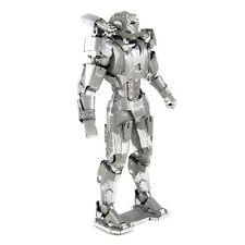 Fascinations Metal Earth 3D Laser Cut Steel Model Kit Marvel War Machine Mark II