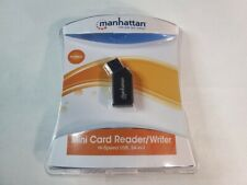 USB 2.0 Mini Card Reader/Writer Manhattan 101677 Hi-Speed USB 24-in-1