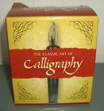 THE CLASSIC ART oF CALLIGRAPHY ~ TEACH YOURSELF KIT
