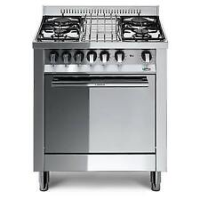 Lofra M75GV 70X50 Kitchen Featuring Plan Steel Polished Mirror - 4 Burners to G