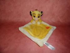 Nicotoy Disney Schmusetuch Simba Löwe Löwenbaby Lion gelb beige NEU mit Etikett