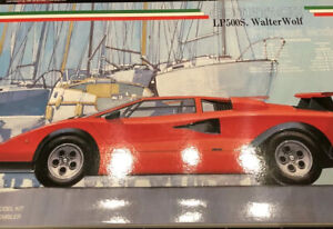 Kit 1:24 Fujimi Lamborghini Countach LP 500s