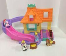Fisher Price Little People Klip Klop Castle Disney Princess Belle Ariel 4 Figure