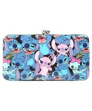 Disney Lilo & Stitch Scrump & Angel Kisslock Hinge Wallet New With Tags!