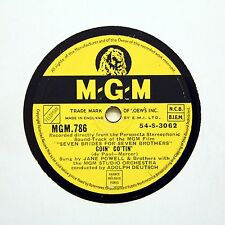 """JANE POWELL & BROTHERS """"Goin' Co'tin' / Lament"""" M-G-M 786 [78 RPM]"""