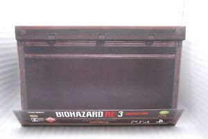 PS4 BIOHAZARD RE:3 Z VERSION COLLECTOR'S EDITION w/ Figure Japan Resident Evil
