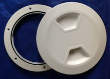 ACCESS DECK HATCH ROUND 150mm X 10 WHOLESALE BOAT DIY SAIL KAYAK RIB PLUMBER