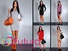 Classic & Practical Womens Dress Long Sleeve Tunic Style Sizes 8-14 FA42