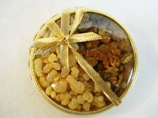 FRANKINCENSE and MYRRH Gifts of the Magi  Pure Resins in Gold Gift Box