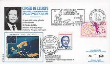"""CE42-DT1 FDC Conseil Europe """"M. Vaclav HAVEL, Président Tchécoslovaquie"""" 05-1990"""