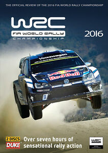 World Rally Championship - Official review 2016 (New 2 DVD set) WRC