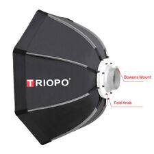90cm Bowens Octagon Soft box Handheld Flash Mount Speedlight Godox Neewer Triopo