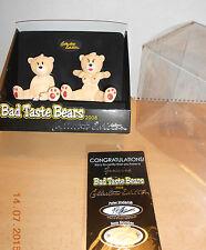 Bad Taste Bears Helix CE maschile e femminile versione in scatola originale solo 500 pezzi