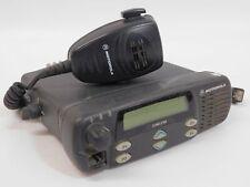 Motorola CDM-1250 AAM25KKD9AA2AN VHF 136-174 40W 64 Channel Mobile Radio w/ Mic