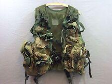 GB Weste Kampfweste/ Einsatzweste Waistcoat Mans DPM Tarn 8 Taschen Anglerweste
