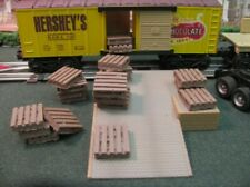 O/O27 Scale Loose Pallets  - Scenery Accessories