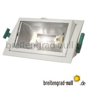Philips MBS 70 Watt HCI HQI Einbau Strahler CDM-T G12 Fluter + 830 + EVG