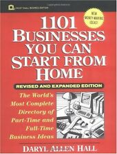 1101 Businesses You Can Start From Home (Wiley Sma